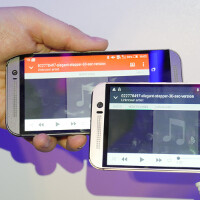 Comparing BoomSound: HTC One M9 vs HTC One M8 speakers side to side