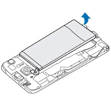Galaxy S6 has a removable back and replaceable battery, as per the manual, just don't try it at home