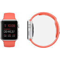 The Apple Watch Sport straps are all made of fluoroelastomer - here is what this means
