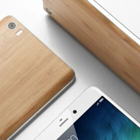Xiaomi intros the Mi Note Natural Bamboo Edition for just $370