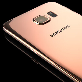 now that's premium galaxy s6 in rose gold and platinum