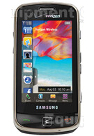 More upclose shots of the Samsung Rogue