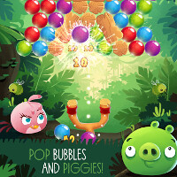 New Angry Birds Stella POP! game mixes bird slinging with a bubble shooter