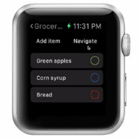 Combine your shopping list and in-store navigation with Captain for your Apple Watch
