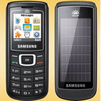 Did you know that Samsung launched the first solar-powered cell phone?