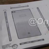 Huawei P8 blueprint reveals super-slim design, fingerprint scanner?