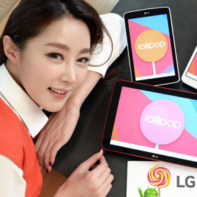LG starts rolling out Android Lollipop updates for its G Pad tablets