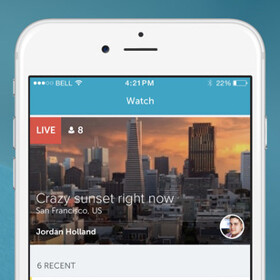 New live video streaming app