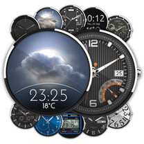 10 beautiful Android Wear watch face packs