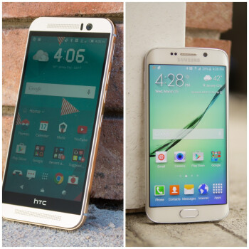 HTC One M9 vs Samsung Galaxy S6 edge: vote for the better smartphone!