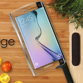 Samsung Galaxy Blade edge is the world's first smart knife, phone capabilities included