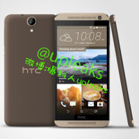 HTC One E9 renders show off a plastic device with One M8-like design and BoomSound speakers