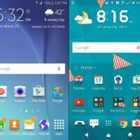 Samsung's new TouchWiz UI vs HTC Sense 7 UI comparison: vote for the better user interface!