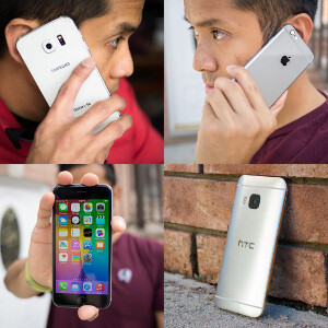 Samsung Galaxy S6 (Exynos 7420) vs HTC One M9 (Snapdragon 810) vs iPhone 6 (Apple A8) performance review
