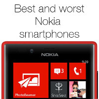 The best and worst Nokia smartphones we've ever reviewed