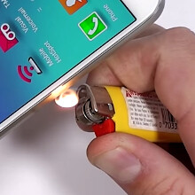 Galaxy S6 goes through scratch, bend and fire testing: tough as nails (video)