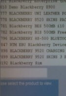 Accessory SKUs for the BlackBerry Storm 9520 start to pile up on Vodafone's inventory