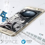 UK retailer Tesco launched a Galaxy S6 edge in space for the kicks, and is about to live-stream it