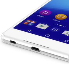 Another Sony Xperia Z4 render shows up, larger front-facing speakers visible