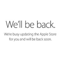 Apple closes down the Apple Store in preparation for Apple Watch pre-orders