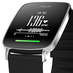 Asus VivoWatch offers 10 days of battery life, plus fitness-oriented features