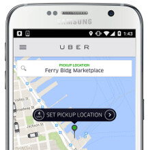 Rejoice, Uber riders, booking with Galaxy S6 will now net you a $25 discount