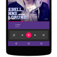 Gramophone is a new music player for Android with a simplified purpose