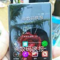 Latest image of ZTE Nubia Z9 once again confirms a bezel-less design for the handset