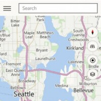 Windows 10 for phone Technical Preview features Maps app that integrates Bing Maps and HERE