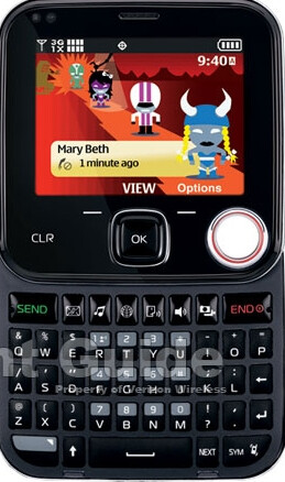 More images of the Nokia Twist 7705 for Verizon