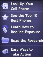 The EWG rates cell phone radiation by phone model and provider