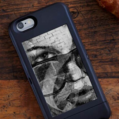 Your iPhone 6 will soon have an e-ink display that automatically changes images thanks to this popSLATE case