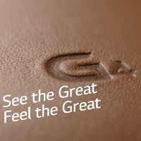 Quick 15 second teaser for the LG G4 doesn't show whips but does show the leather