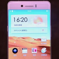 Oppo's bezel-less display technology appears on video
