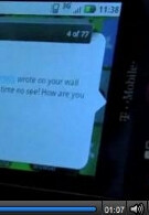 Motorola's CLIQ makes a video