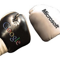 Microsoft and Google in a contest for…second