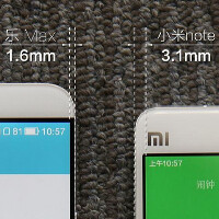 LeTV executive backs up his claim about the LeTV Max's bezels by posting a comparison photo