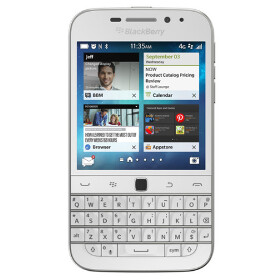 White BlackBerry Classic arrives this week in selected regions
