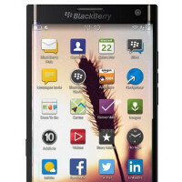 Three unannounced BlackBerry models are photographed