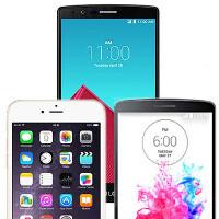 LG G4 vs LG G3 vs Apple iPhone 6: specs comparison