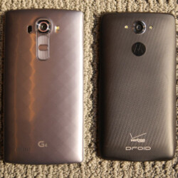 LG G4 vs Motorola Droid Turbo: first look
