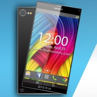 Sony Xperia Z5 concept images envision a slim phablet with 4K display