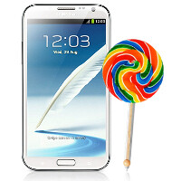 No Android 5.0 Lollipop for the Samsung Galaxy Note II? Samsung Gulf believes so