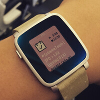 Mass production of the Pebble Time watch starts next week; device ships in the second half of May