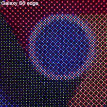 Galaxy S6 edge put under the microscope, reveals Diamond Pixels display matrix