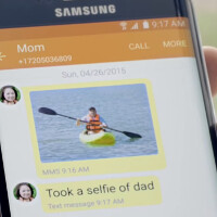 Samsung's Mother's Day ad is cute. If you relate to it, you may win a Galaxy S6 edge, too