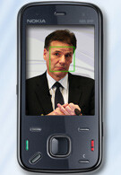 The Nokia N86 8MP gets face recognition?