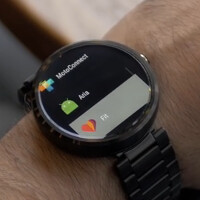 Aria adds gesture control for Android Wear or Pebble Time watches