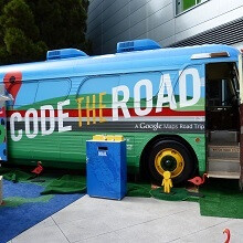 Code the Road: Google Maps turns 10, will you catch the bus?
