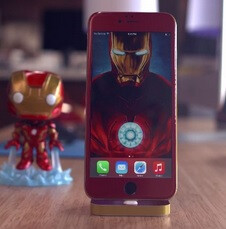 Here's what an unofficial iPhone 6 'Iron Man' edition looks like